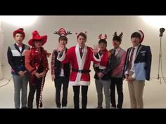 Block B - Merry Christmas - It's so nice as an international BBC to see such an effort made by the guys to connect with their fans across the world <3 Merry Christmas!!! #BBCLove