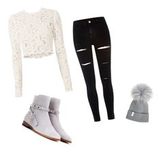 """""""Movie night out"""" by serenamaie on Polyvore featuring A.L.C., River Island and Valentino"""