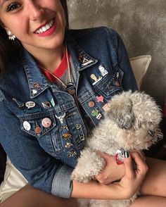 """Allison 🌵 ᎦᎸᏍᎬ ᏯᎾᏏ on Instagram: """"ᎣᏏᏲ! Sundays are for snuggles with your favorites! 💕 Mitzie didn't get the memo....."""" Star Wars Jacket, Snuggles, Your Favorite, Denim, Stars, Jackets, Instagram, Fashion, Down Jackets"""