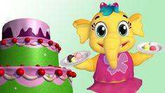 Ice Cream Cone Cake Song | Nursery Rhymes Collection & Kids Songs | Emmie the Elephant | Babytoonz #icecreamSong #kidsmusic #videosforchildren