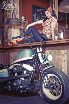 Have thought amature hot rod pin up girls what here