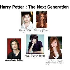 Harry and Ginny's Children by december-lullaby on Polyvore featuring polyvore and art