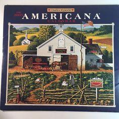 Charles Wysocki Calendar Art Prints Americana Farm Life New England Ships 2005
