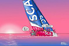 Sail Humor by Mark O'Brien