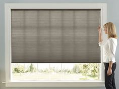Cordless, Top Down/Bottom Up, Day/Night Accordia Cellular Shades | www.levolor.com