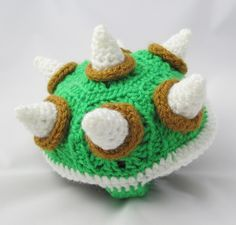 Make It! Challenge #5: Crochet Bowser Sweater for a Turtle
