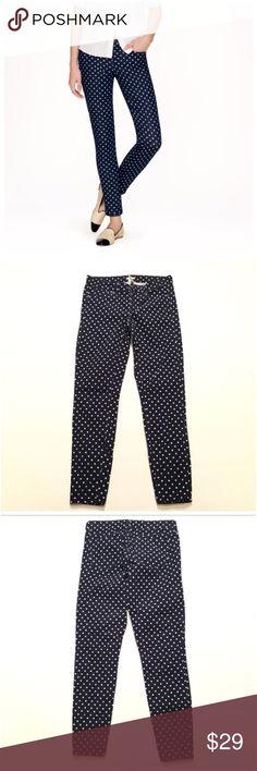 "50% OFF 🚨 J. Crew Corduroy Toothpick Jeans Size 25. Inseam 27.5"" 99% cotton 1% spandex. Color : navy blue J. Crew Jeans Skinny"