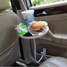 Car Auto laptop Tablet PC Pad Mount Stand Holder Desk Table Drink Food Cup Tray #Unbranded