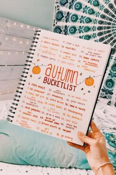 Bullet journal ✰ ✰ Acne: A Basic Understanding Statistics indicate that as high as of the entire Bullet Journal Ideas Pages, Bullet Journal Inspiration, Bullet Journals, Bucket List For Teens, Autumn Aesthetic, Autumn Cozy, Happy Fall Y'all, Fall Pictures, Fall Halloween