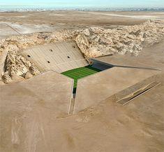 Underground Stadium Design in United Arab Emirates