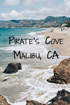 Pirate's Cove Beach in Malibu, California. The perfect spot for photography and amazing views. | Tekwani Travels www.ninatekwani.com