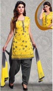 #Yellow Color Straight Cut #Chanderi #Silk Punjabi Patiyala Readymade Dresses   FH500576580 #punjabi , #patiyala, shindhi, #suits, #narrow, #dresses, #salwar, #kameez, #straight, #long, #heenastyle, #indian, #online, #shopping, #clothing, #womens, #girls, #style, #mode, #henna, #hina, #mehendi, #dupatta, #chudidar, @heenastyle , #pakistani, #readymade