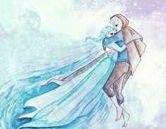 Jack and Elsa by cuddliimuddlii.deviantart.com on @deviantART