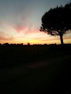 Photo by AngelaRizzo® ~ Paestum sunset ~ tramonto a Paestum