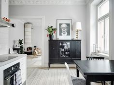 Cozy home with antique elements