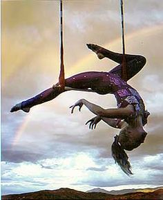 I want to run away with the circus... To live where difference is embraced :)