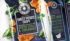 Delicious sweet potato flavor and just the right amount of seasonings,  finally together in one well-crafted chip.