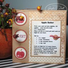 Apple Butter Recipe Card