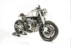 "Suzuki GSX750 Cafe Racer ""Sadewa"" by White Collar #motorcycles #caferacer #motos 