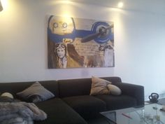 Schilderij Lost - Under Pressure bij de klant thuis!