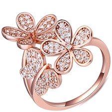 18Ct Rose Gold Ring