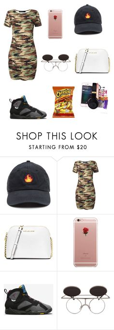 """Untitled #37"" by poohklb ❤ liked on Polyvore featuring MICHAEL Michael Kors, ETUÍ and NIKE"