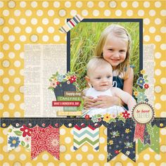 Simple Stories - Summer Fresh Layout