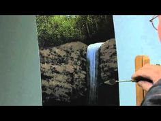 Paint-Along: How to Paint a Waterfall in Oils, Part 2 - YouTube