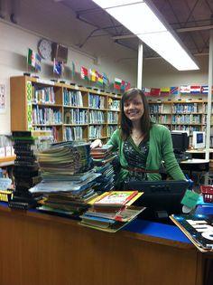 a school library blog