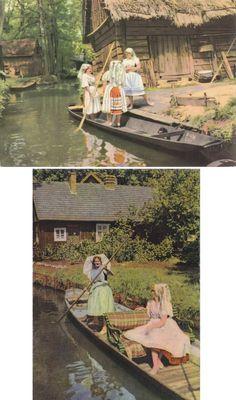 8 Vintage Costume Postcards  Spreewald  Germany  by P8iosities, €5.50