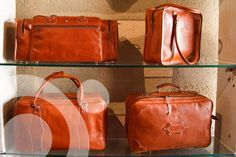 High quality leather products: handbags, belts, suitcases, backpacks, saddlery, ....Its production contributes to maintain tradition and employment.