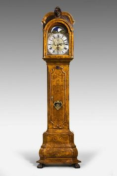 Early 18th Century Walnut Longcase Clock by J Elias of Amsterdam (Ref No. 4333) - Windsor House Antiques