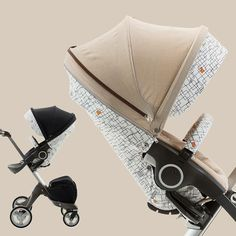 go #retro with a #mod twist - #new #stokke #grid #style kit perfectly pairs with your #stokkexplory textiles