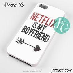 netflix is my boyfriend Phone case for iPhone 4/4s/5/5c/5s/6/6 plus