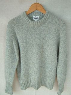 Vintage WOOLRICH crew neck pullover sweater Wool Blend  Ladies Size Medium #Woolrich #Pullover