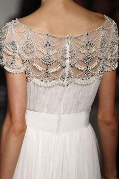 Marchesa Fall 2013 drew inspiratoin from the heart of the Iris and Bulgarian Rose.