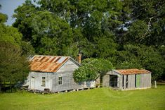 Rural and Rustic -- Old Farm House at Jerseyville Village near South West Rocks NSW