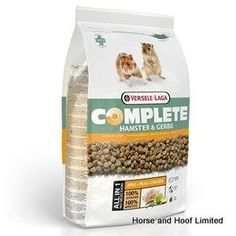 Versele Laga Hamster Gerbil Complete Food Versele Laga Complete Hamster Gerbil a complete feed adapted to the nutritional requirements of hamsters and gerbils to support digestive heath and wellbeing. Gerbil, Hamsters, Hamster Food, Nutritional Requirements