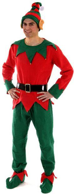 Adulte Vert /& Rouge Noël Bottes Santa Helper ELF Pixie Noël Deluxe Chaussures