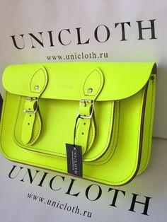 Cambridge Stchel Fluro Yellow 11' vk.com/cambridgesatchelinrussia www.unicloth.ru
