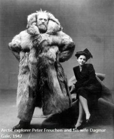 Peter Freuchen - Artic Explorer, fought the germans, 7+ feet tall,  and looks like a Giant Bear!