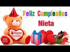 Wecome to the Video Player - mobile version. Happy Birthday Flowers Wishes, Happy Birthday Greetings, Feliz Compleanos, Diy Birthday, Birthday Gifts, Greetings Images, Barbie, Catholic Prayers, Ursula