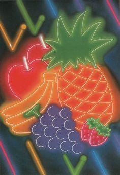 Masahiro Murakawa, from JCA Annual 4 (1982) #80s #fruit #art