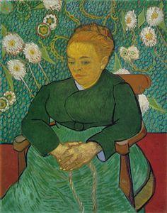 Vincent Van Gogh - La Berceuse (Augustine Roulin)