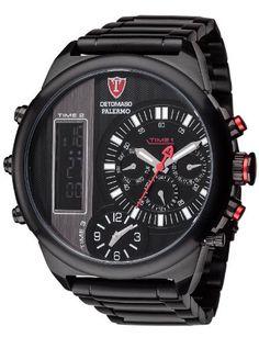 Detomaso Men's Watch XL PaLERMO Multiple Time-Black Steel... https://www.amazon.co.uk/Detomaso-Time-Black-Analogue-Digital-Stainless-DT2052-D/dp/B00IOQM28A/ref=as_li_ss_tl?s=watch&srs=1650946031&ie=UTF8&qid=1469371697&sr=1-17&linkCode=ll1&tag=ukdrive-21&linkId=145c650719797924855c8cc78a0680c0
