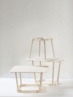 'Upside Down' table by www.tafarkitektkontor.se.  www.nyttrom.no Foto: Petra Bindel & TAF