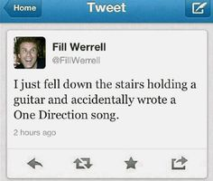 How One Direction songs are written.