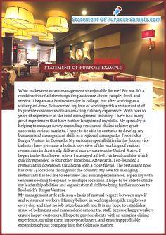 001 Sample Statement of Purpose Grad School Essay examples