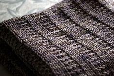 Ravelry: Garter Rib Baby Blanket pattern by Orange Flower Yarn