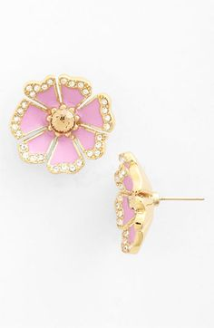 Oh My Goodness!!!  Makes me SMILE! :)  kate spade new york garden grove stud earrings Nordstrom